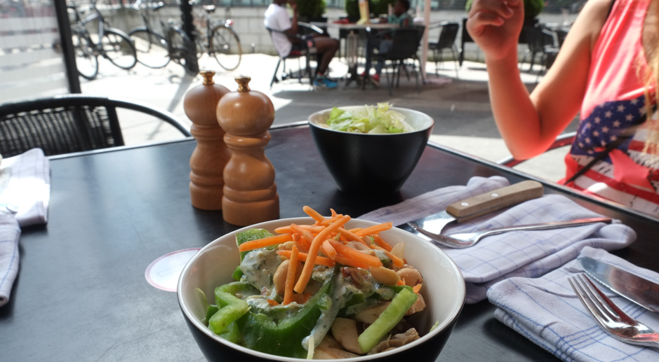 Salat på Bone´s i Aarhus