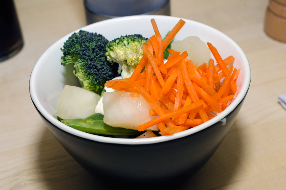Salat på Bone's