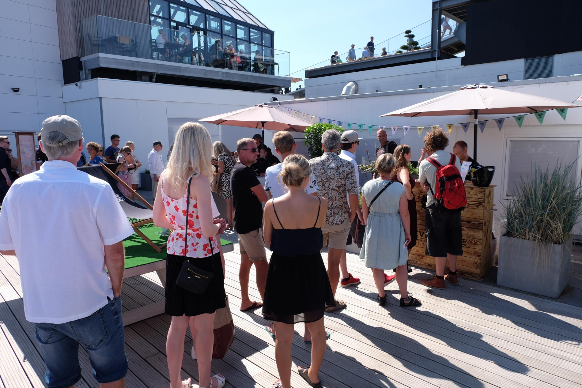 Aarhus´ bedste panoramaudsigt: Caféen på Salling ROOFTOP åbner igen