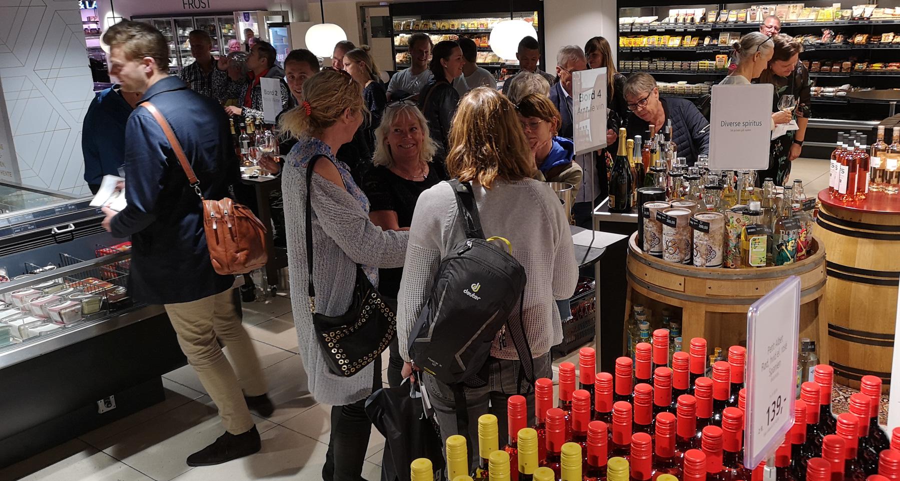 Oplevelser i kælderen: Lidt sjovere at shoppe i Salling Super