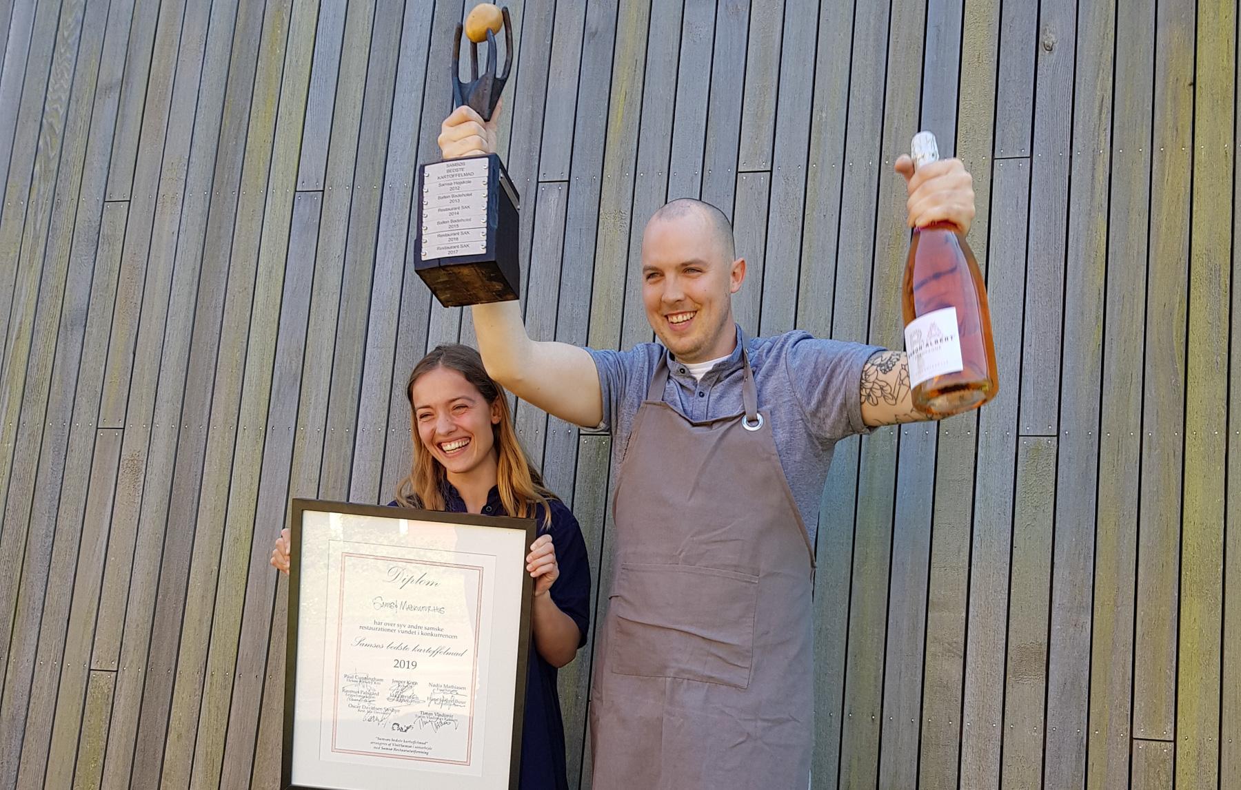 Samsøs bedste kartoffelmad: Vinderen af Samsøs bedste kartoffelmad 2019