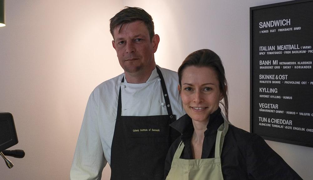 Sara Bernth og Bo Marcussen