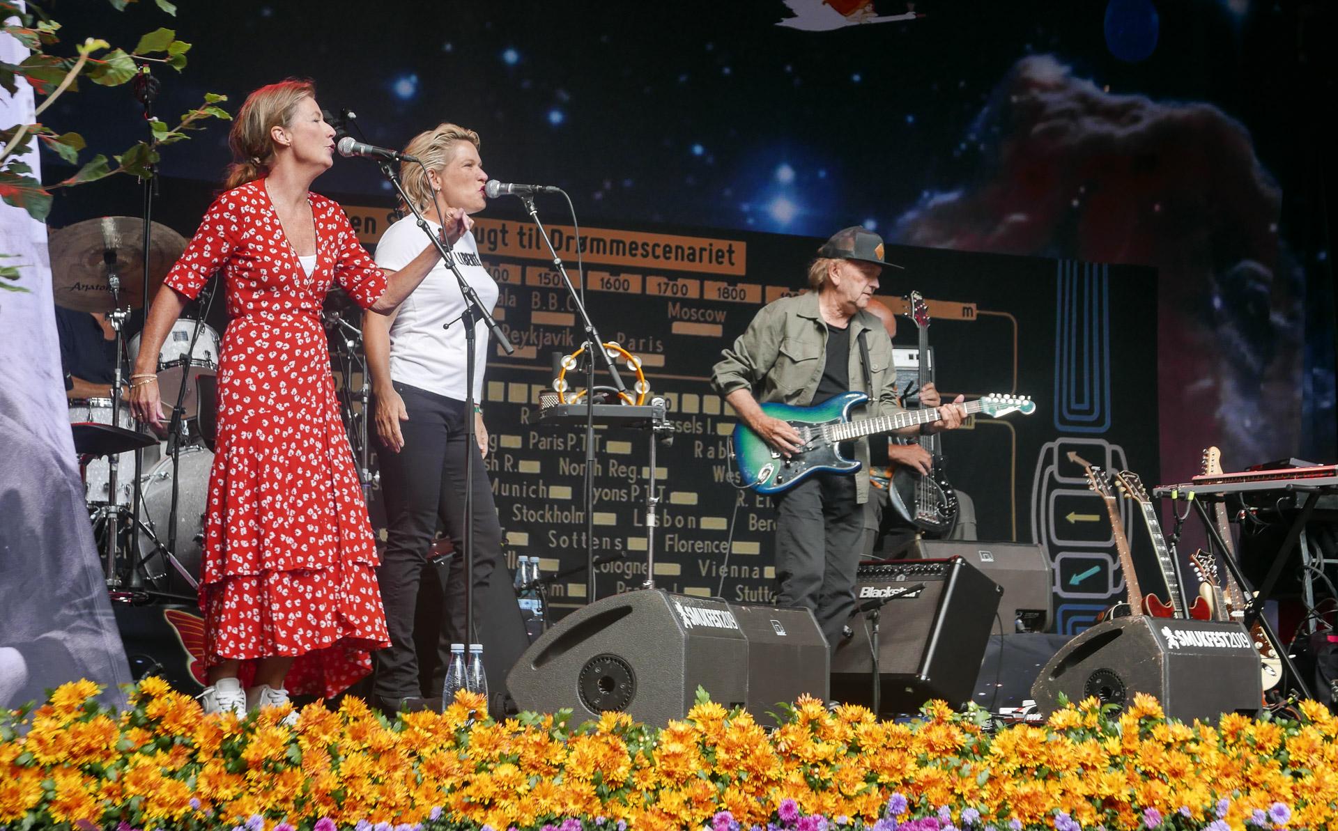 Anmeldelse: Sebastian Band spillede solen tilbage til Skanderborg