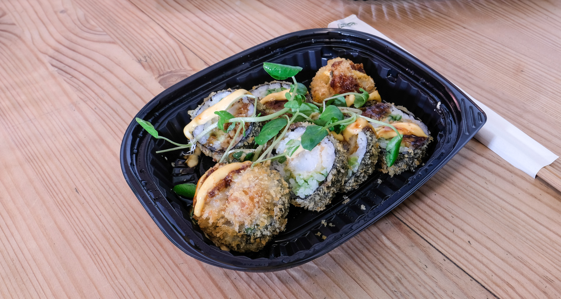 Madanmeldelse: Sushi fra Nori Bar overraskede på flere områder