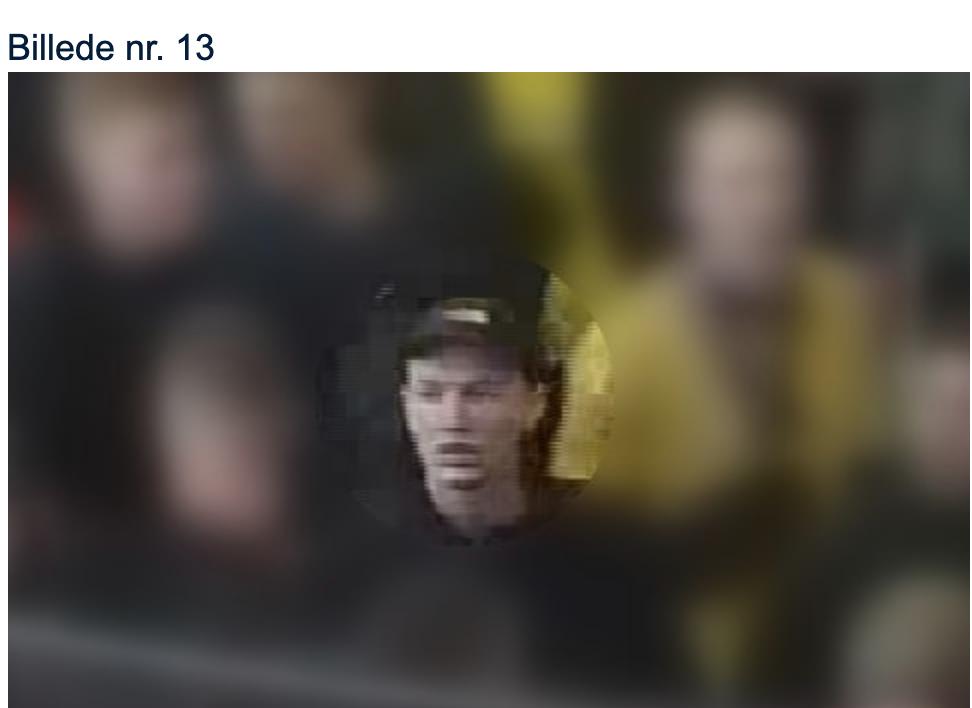 Offentliggør billeder af 18 personer: Kan du genkende disse Brøndby-fans?