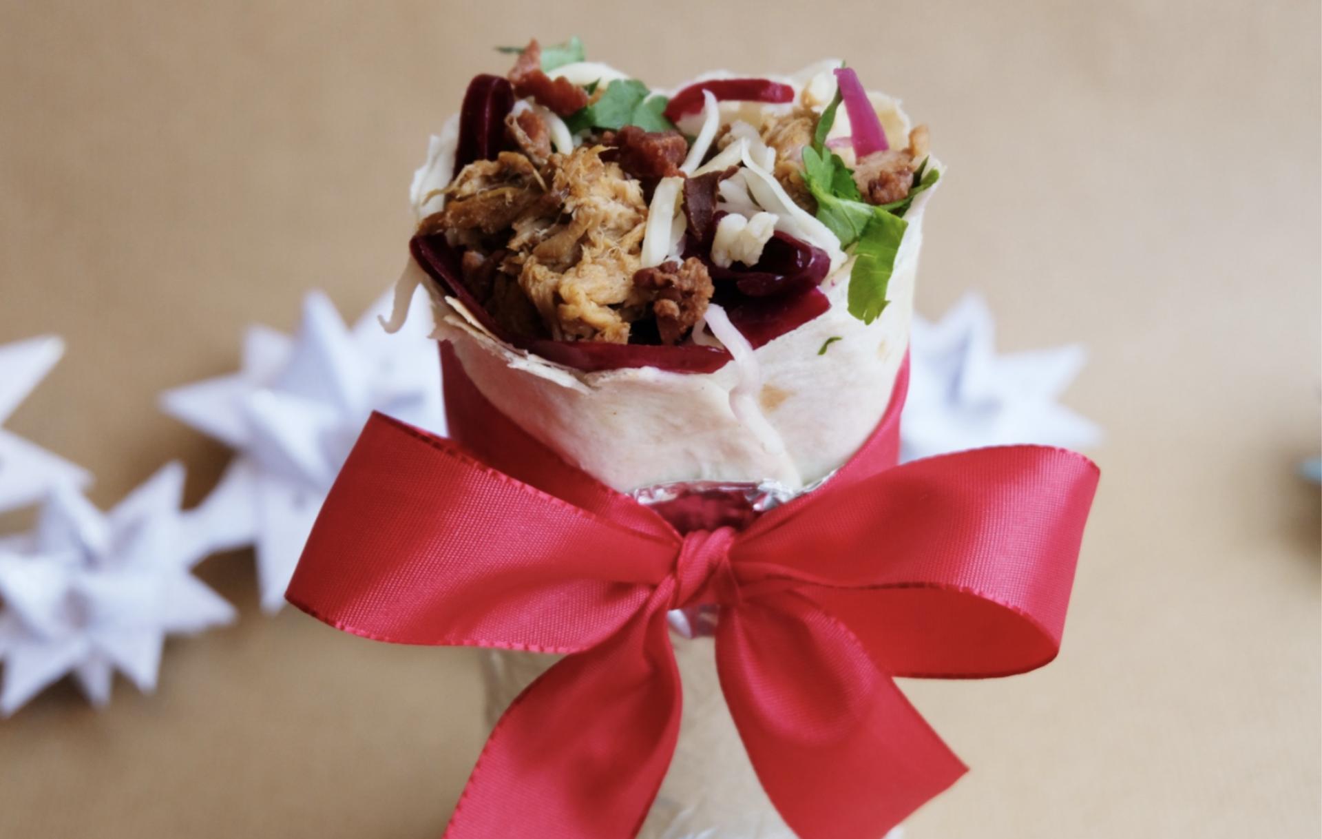 Juleburritoen er tilbage på menuen hos Chido Mexican Grill