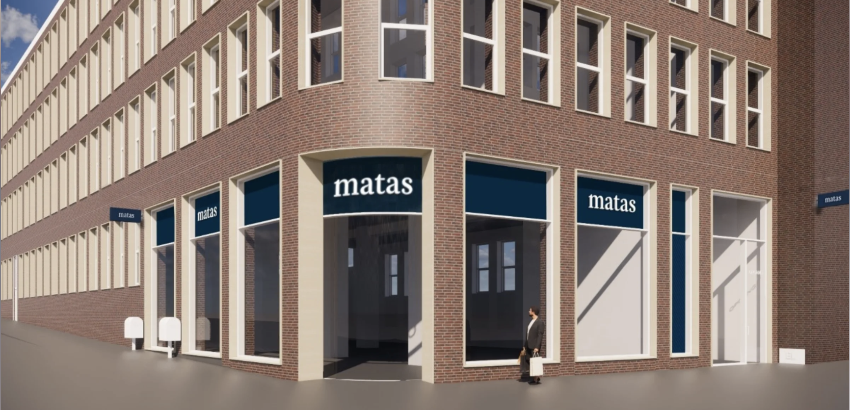 Matas opruster i Aarhus: Laver kæmpebutik på hjørnet af Søndergade og Østergade