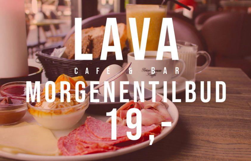 Lava Café & Bar: Mega morgentilbud i juli