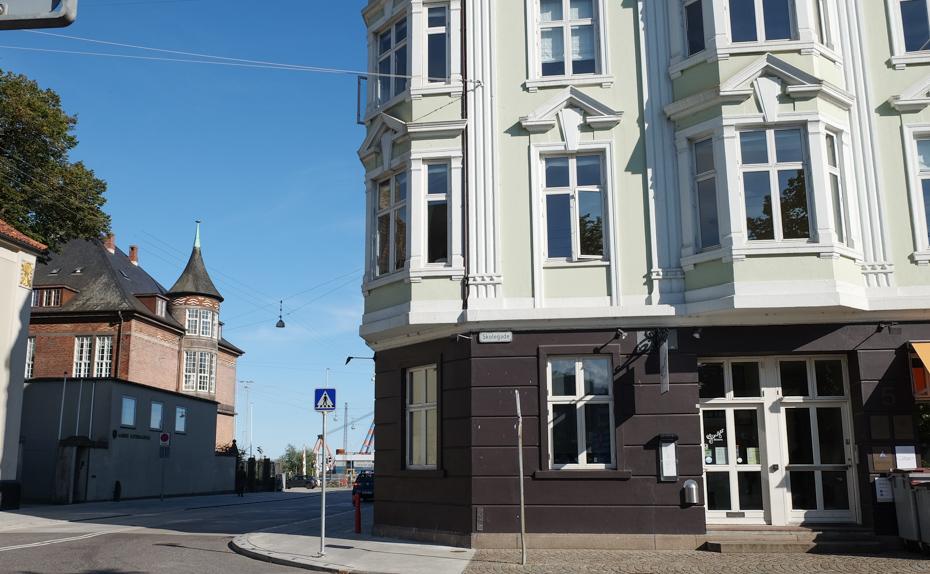 Slinger Bistro ved Domkirken i Aarhus_