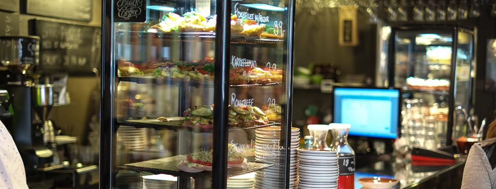 Smørrebrød på Sigfreds Kaffebar i Ryesgade_