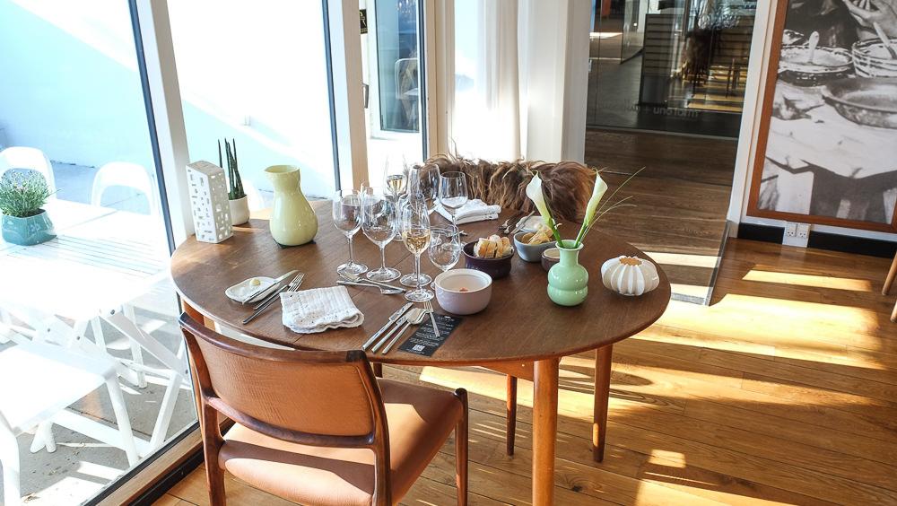 Smukt dansk design hos Kählers Villa Dining