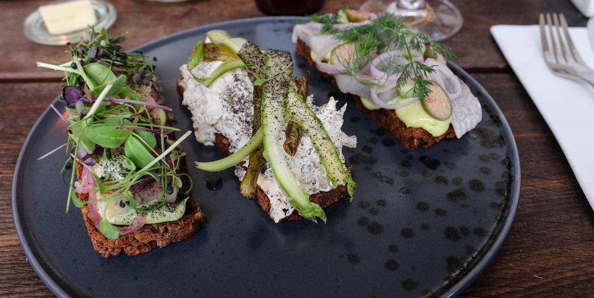Smukt smørrebrød hos Kähler Spisesalon - Aarhus Update