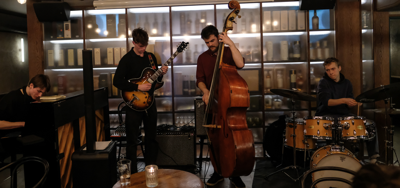 The Merchant Room: Cocktails and Jazz hosted by Frederik Vuust