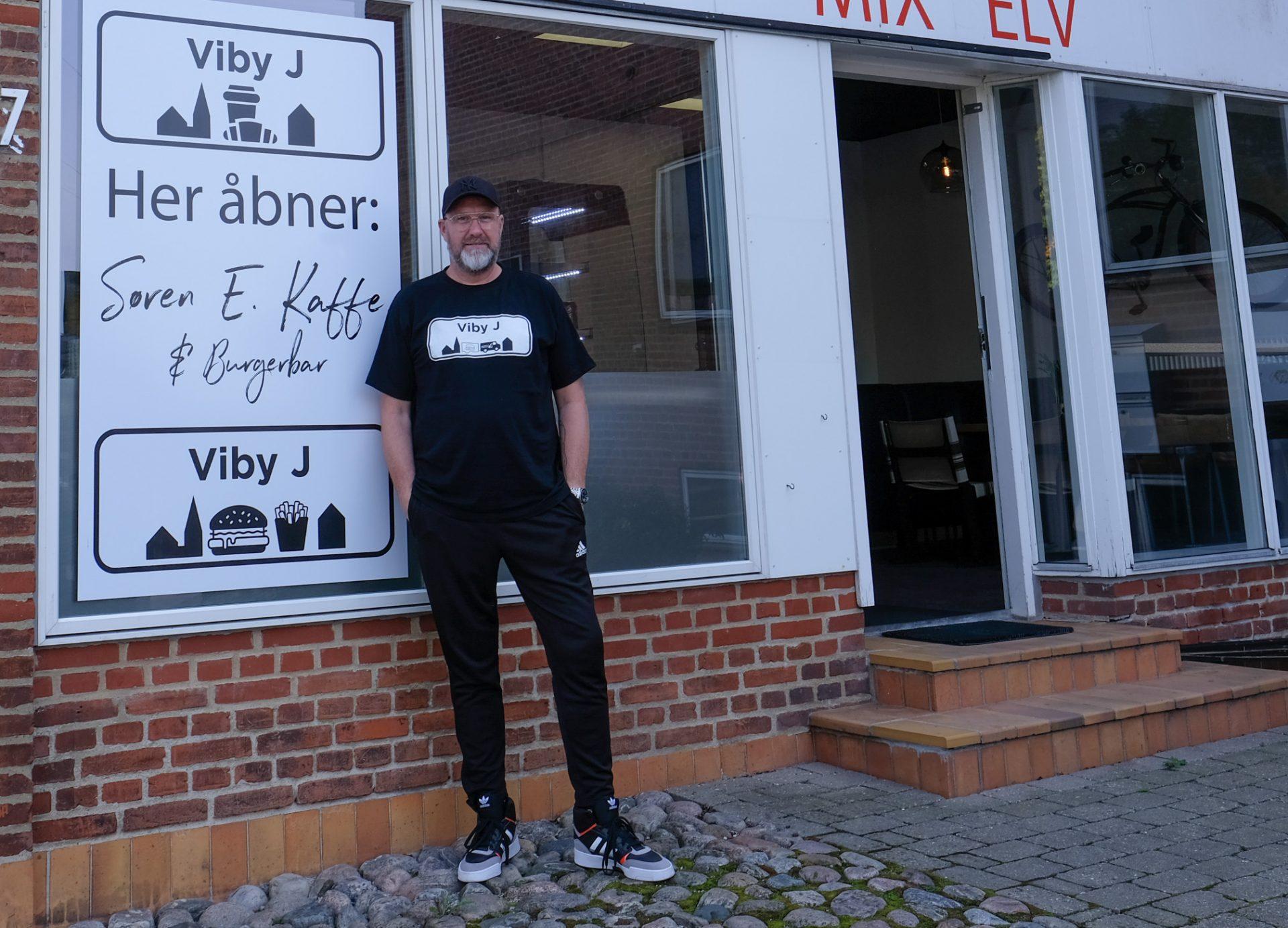 Søren E. udvider: Laver ny cool burger- og kaffebar på Skanderborgvej i Viby