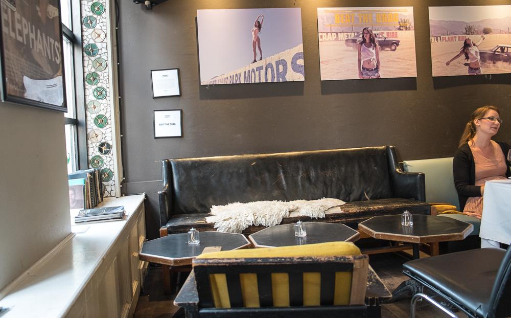 Sofaen på Café Drudenfuss_