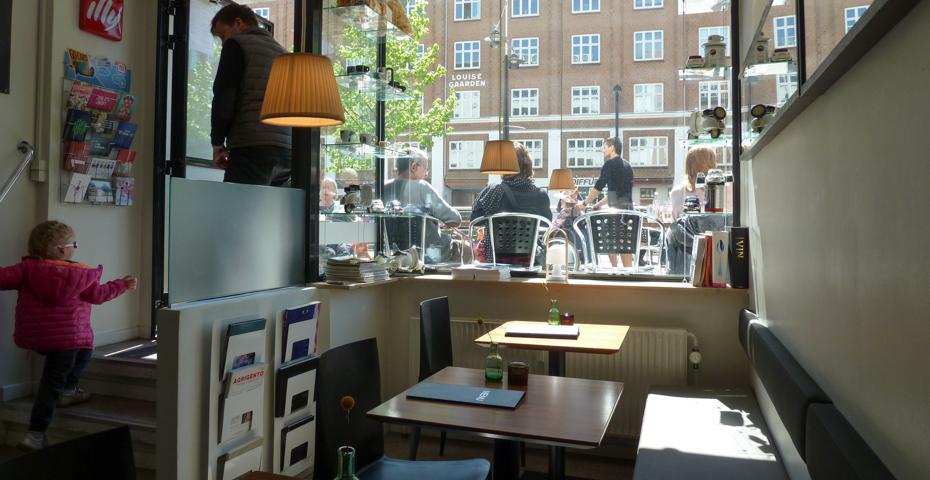 Sol og godt vejr ved il Caffé_