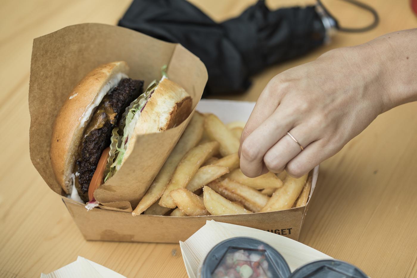 Burgere med eller uden kød: Smag fremtidens festivalmad på NorthSide
