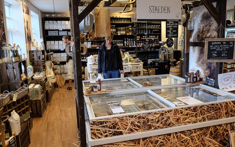 Stalden og gode produkter hos Landmad.dk i Grenå