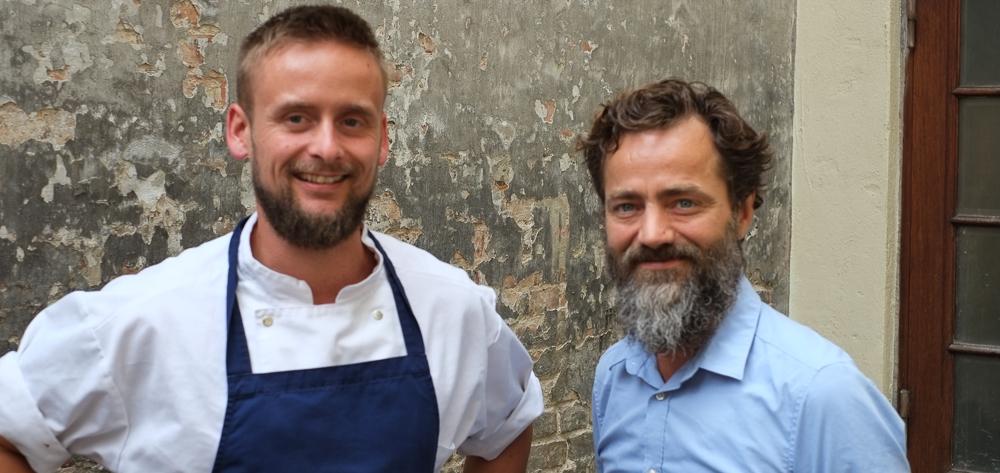 Steffen og Thomas i Sigfreds Kaffebar_