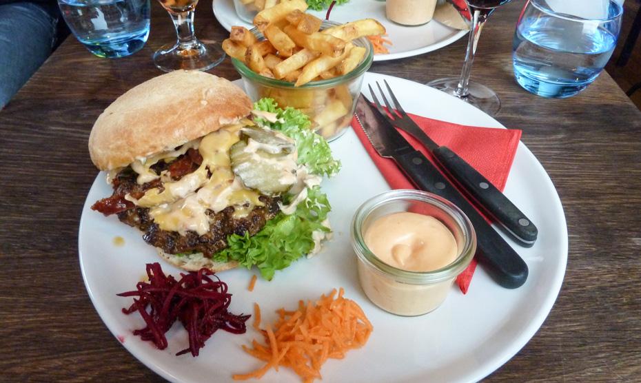 Stiftens burger på Café Stiften_