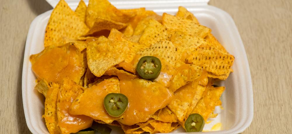 Stor nachos fra Rohdes på Trøjborg