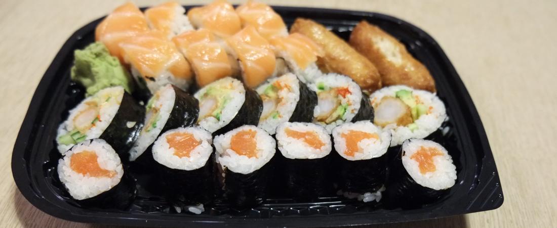 Sushi fra Oishii Running Sushi