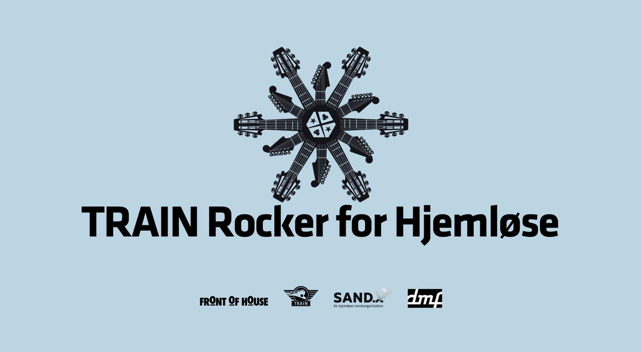 Seks nye navne til støttekoncerten TRAIN Rocker for Hjemløse
