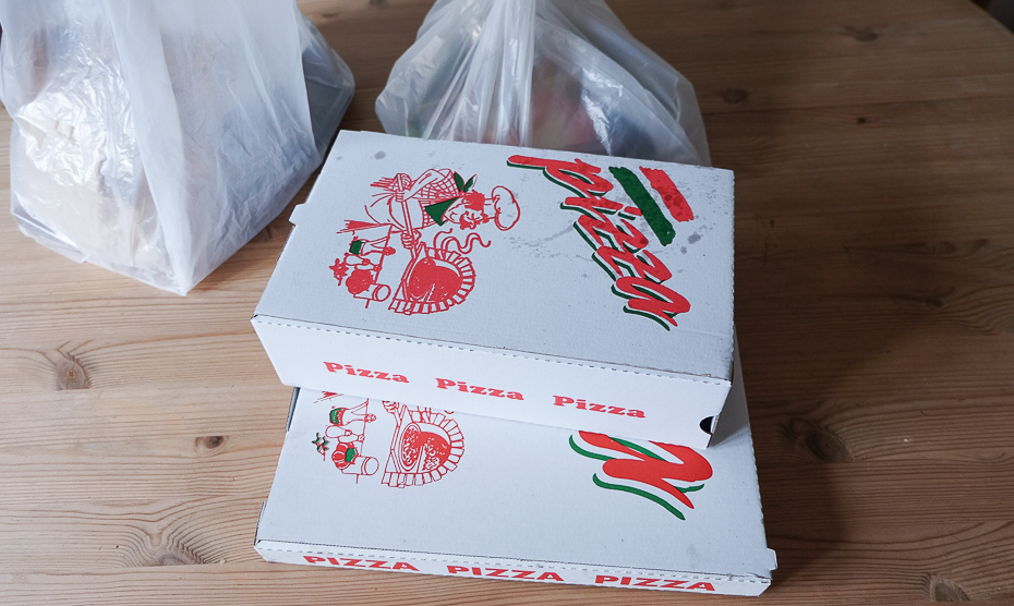 Takeaway fra Bellissimo Pizza & Grill