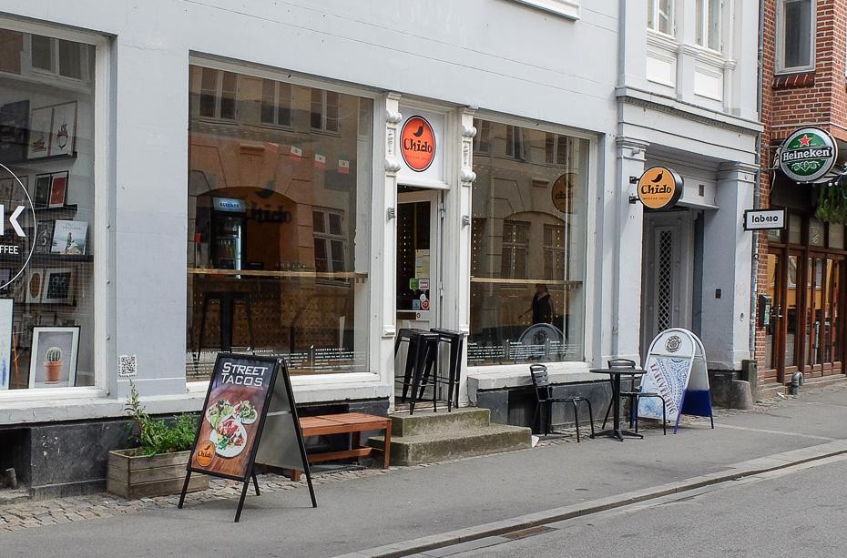 Takeaway og café - Chido i Mejlgade