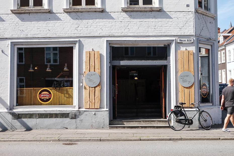 Takeaway og café i Aarhus- Murphy´s i Nørre Allé i Aarhus_