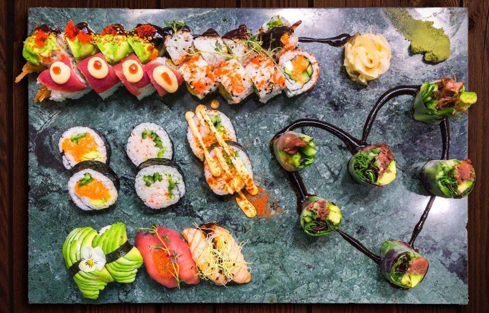 Gå weekenden i møde med sushi: 7 gode sushisteder i Aarhus