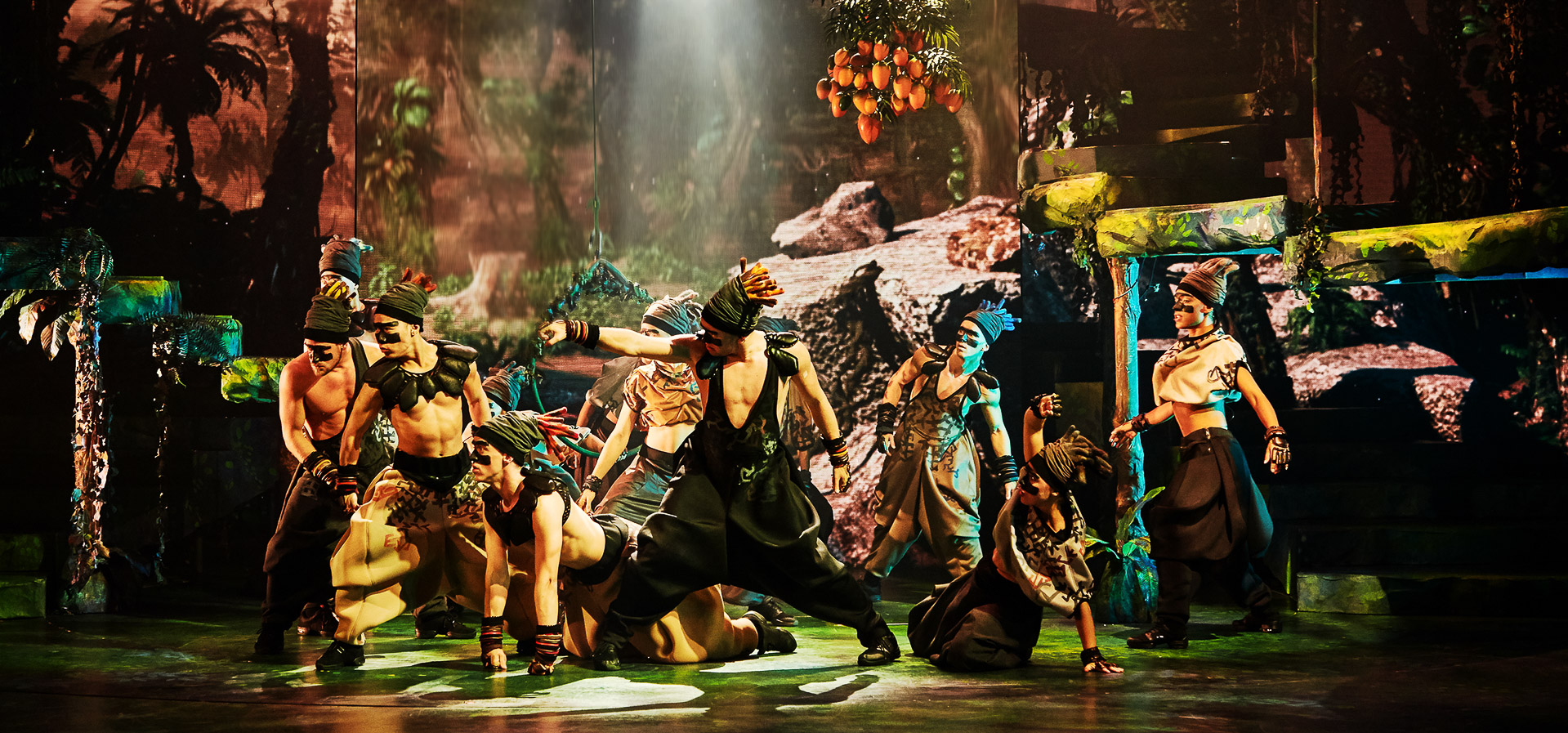 Musikhuset Aarhus: Tarzan svingede sig ind over publikum med fortryllende junglemagi