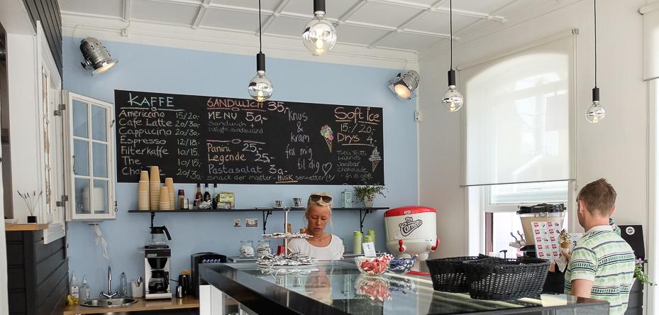 Tavlen hos Café 8 i Aarhus