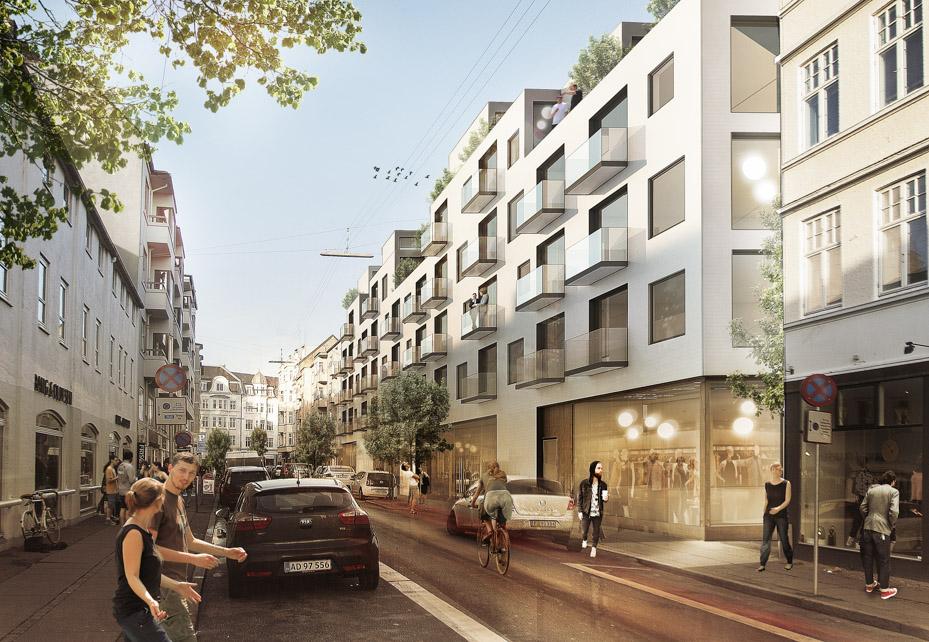 Tegning over nyt byggeri i Latinerkvarteret-2