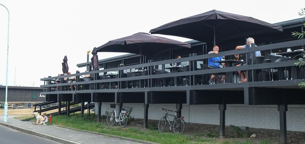 Terrassen på Brasserie Vankoch
