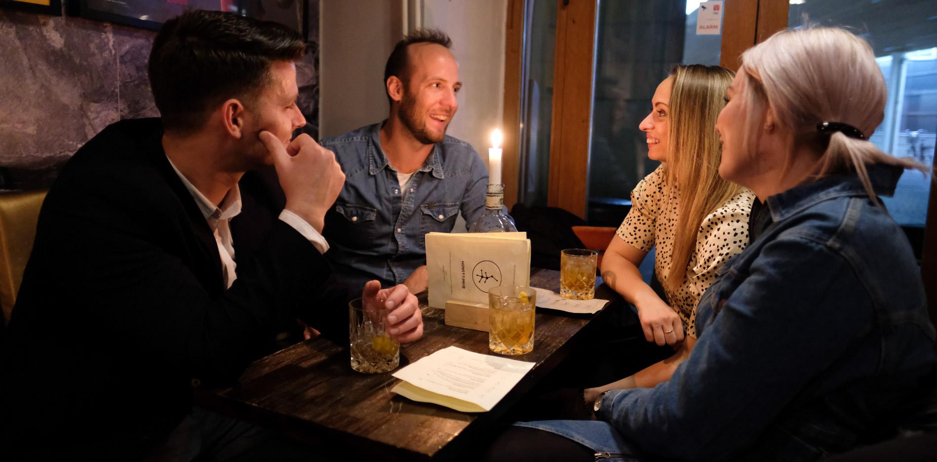 The Bird & The Churchkey: Succesfuld Gin Crawl i godt selskab