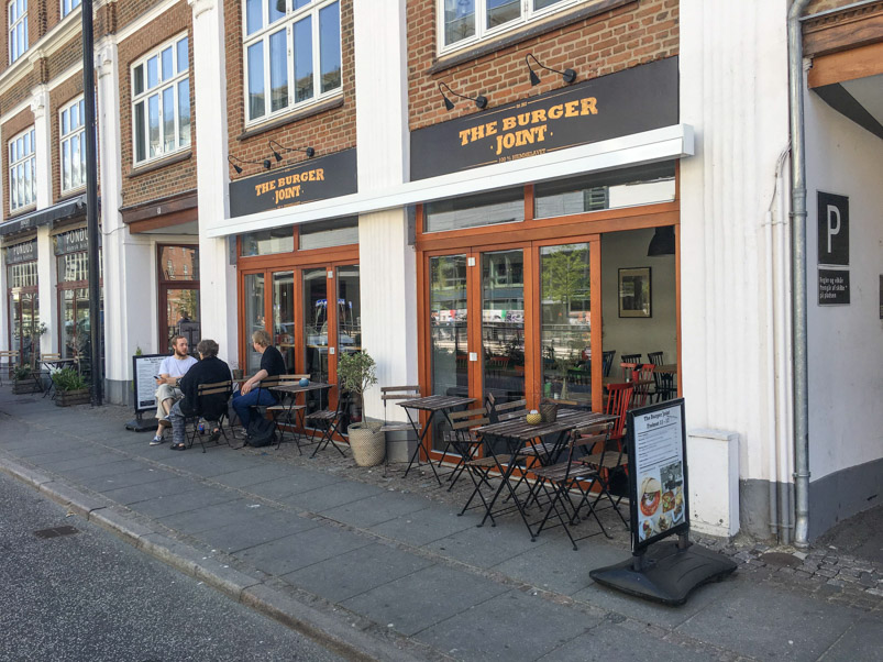 The Burger Joint ved åen i Aarhus