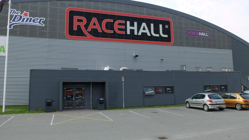 The Diner i Racehall - set udefra