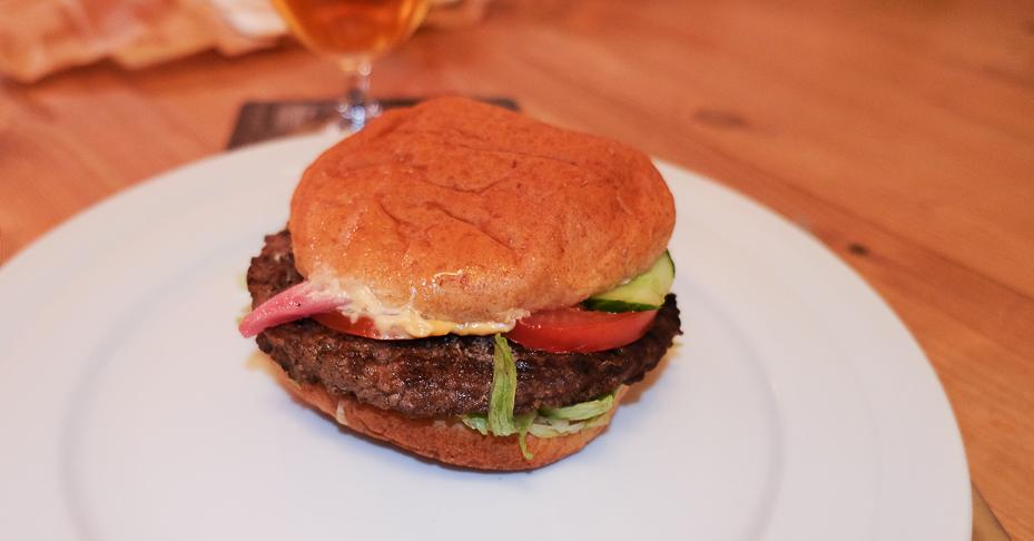 The bad boy burger