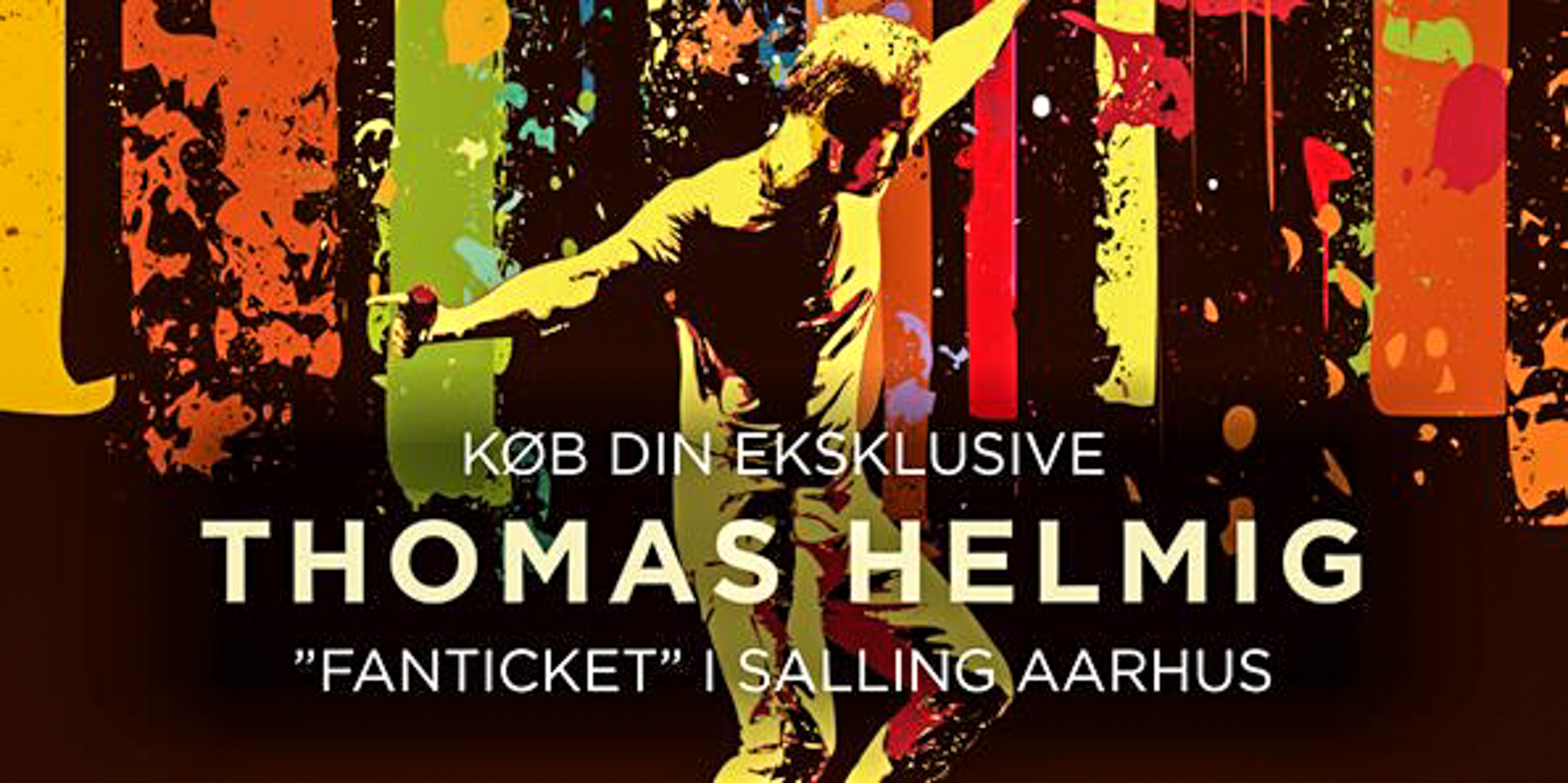 """Salling Aarhus: Eksklusiv Golden Circle """"Fanticket"""" til Thomas Helmig koncert"""