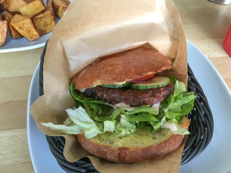 Thousand Island Burger hos The Burger Joint