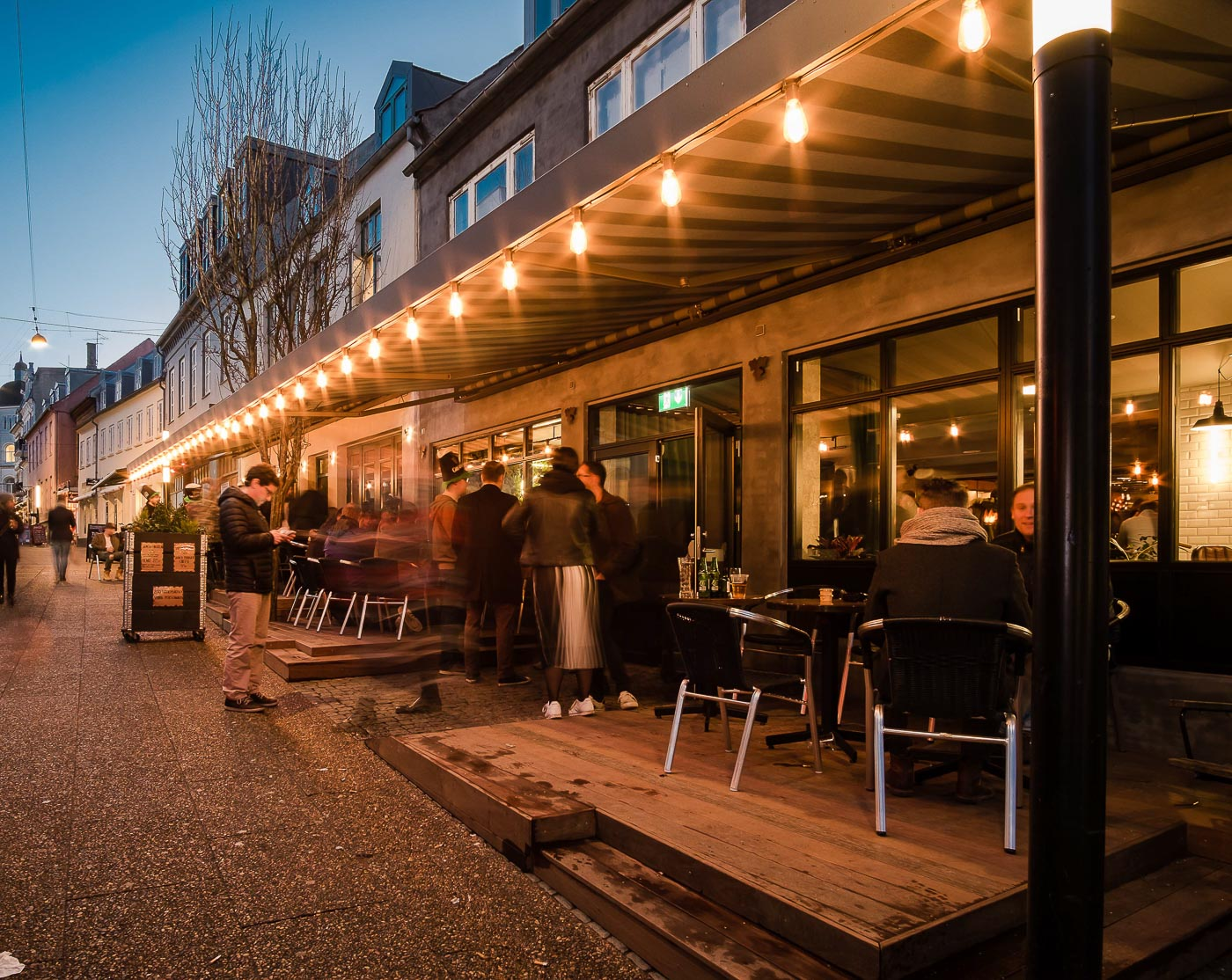 Tir na nÓg: Åbner eget pizzaria i Aarhus' største bar