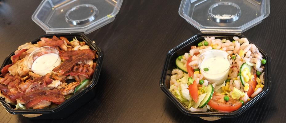 To gange salat fra Jerry's_