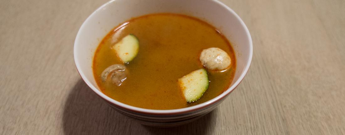 Tom Yam Goong suppe fra Orientalsk Køkken_