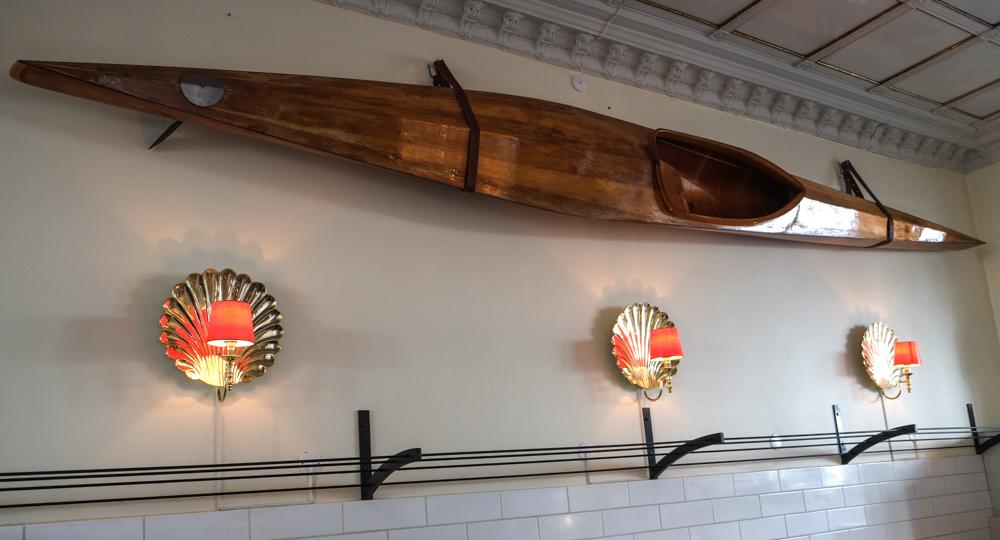 Trækajak på Klassisk Fisk