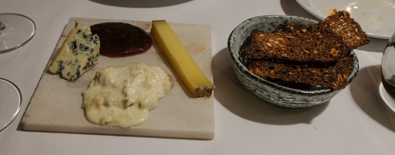Tre franske oste på Restaurant Gäst