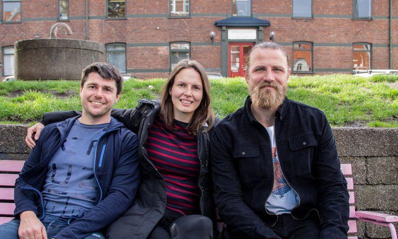 Troels, Manja og Rasmus