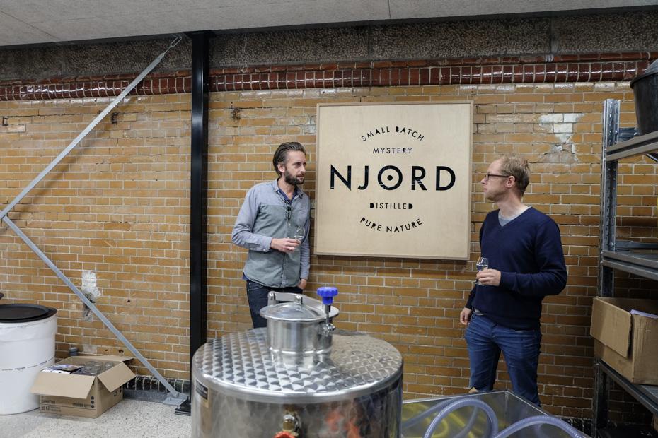 Troels Præst Andersen og Lars Toke Graugaard og deres nye lokaler-Aarhus Update