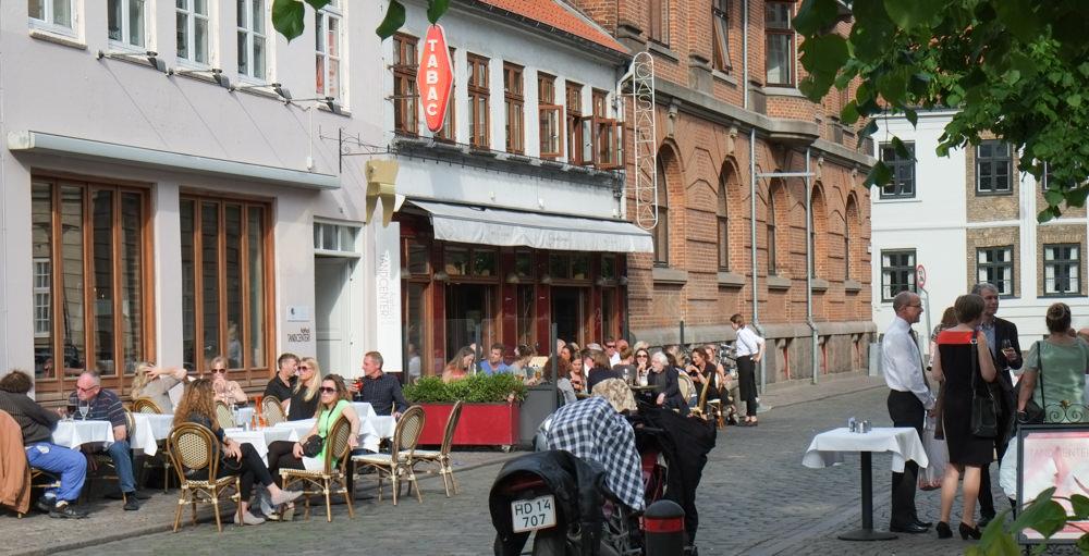 Udeservering på Café Casablanca i Aarhus