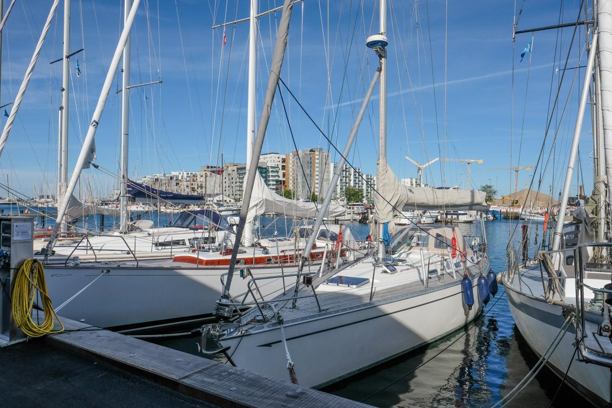 Udsigten fra Restaurant Koch ved den gamle havn - Aarhus Update